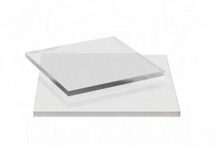 Монолитный поликарбонат Borrex толщина 4 мм, бесцветный