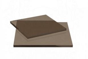 Монолитный поликарбонат Irrox толщина 4 мм, бронза